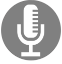 Podcast Icon Silver