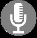 Podcast Icon Silver