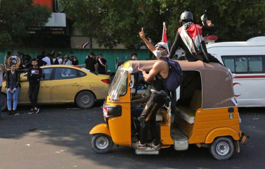 Tuk tuk in Baghdad