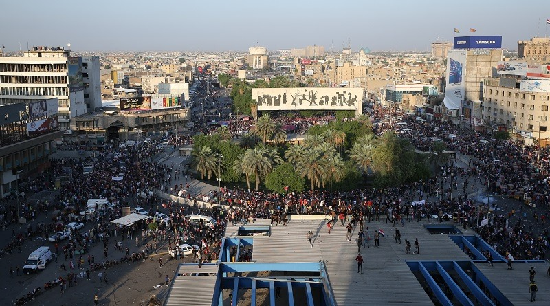 Tahrir Square on 10/1/2020