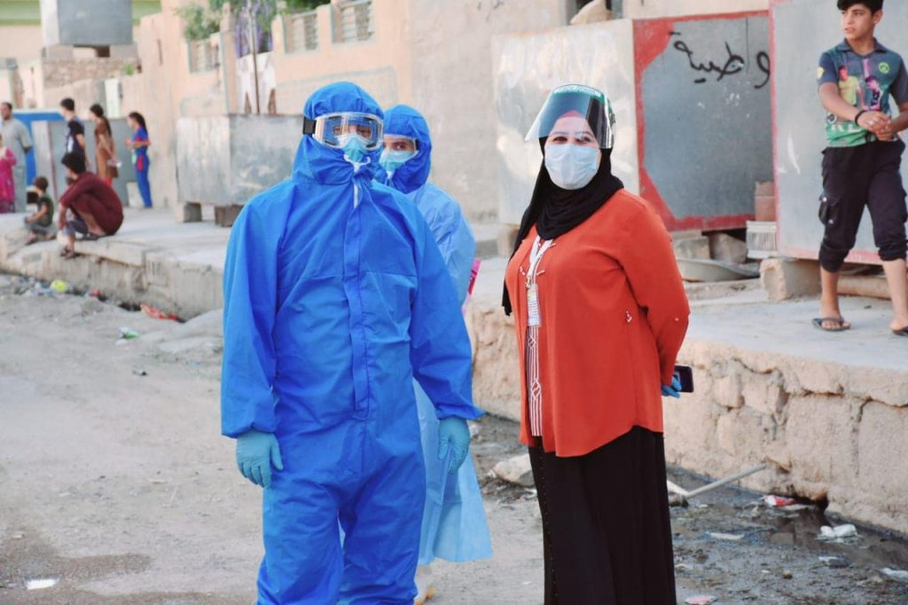 Iraqi Health Workers
